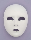 Forum Novelties FM-60819 Full Face White Mask