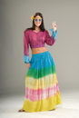Forum Novelties FM-61931 Tie Dye Skirt