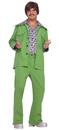 Forum Novelties FM-64240 Leisure Suit 70'S Green