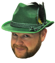 Forum Novelties FM-64580 Octoberfest Hat Green