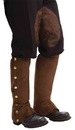 Forum Novelties FM-66244 Steampunk Spats Brown