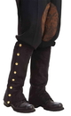 Forum Novelties FM-66245 Steampunk Spats Black