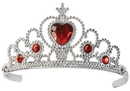 Forum Novelties FM-66566 Ruby Heart Tiara Child