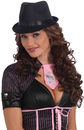 Morris Costumes FM-67389 Fedora Felt Ladies Adult