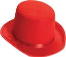 Forum Novelties FM-67645 Top Hat Adult Red