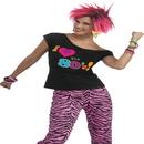 Forum Novelties FM-69781 80'S Shirt Adult 2-6
