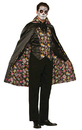 Forum Novelties FM-74686 Day Of Dead Cape
