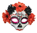 Forum Novelties FM-74714 Day Of Dead Skull Female Mask