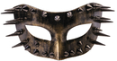 Morris Costumes FM-76000 Steampunk Spiked Gold A7354