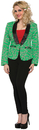 Morris Costumes FM-76287 Candy Cane Blazer Adult Small
