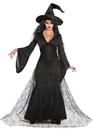 Morris Costumes FM-76656 Black Mist Witch Xs/S Adult