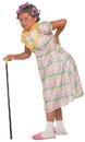 Morris Costumes FM-78148 Aunt Gertie Child 4-6