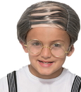 Morris Costumes FM-78226 Old Uncle Comb Over Child