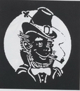 Morris Costumes FP-104 Stencil Leprechaun Stainless