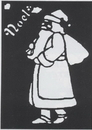 Morris Costumes FP-159 Stencil Father Chrstms Brass