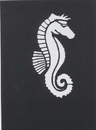 Morris Costumes FP-51 Stencil Seahorse Stainless