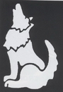 Morris Costumes FP-60 Stencil Coyote Brass