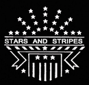Morris Costumes FP-90 Stencil Stars Strpes Stainl