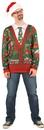 Franco American FR-115779XL Ugly Christmas Cardigan Xlarge