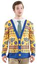 Franco American FR-122019LG Ugly Hanukkah Sweater Large
