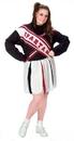 Fun World FW-100175 Cheerleader Spartan Girl Plus
