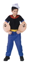 Fun World FW-102722LG Popeye Child Large 12-14