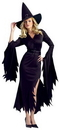 Fun World FW-111044SD Gothic Witch Adult Sm/Md