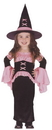 Fun World FW-112761TS Witch Pretty Pink Toddler Smal