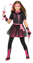 Morris Costumes FW-115232XL Ninja Miss Ch 14-16