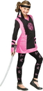 Fun World FW-118522LG Dragon Ninja Girl Ch Lg 12-14