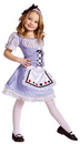 Fun World FW-122082LG Alice Child Costume 12-14