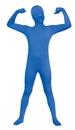 Fun World FW-131262BU Skin Suit Blue Child 12-14