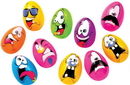 Fun World FW-3058 Easter Crazy Eggs Bag Of 10