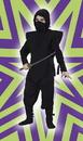 Fun World FW-5887BKLG Ninja Complete Black Large