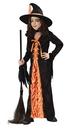 Fun World 5904LG Witch Mystic Orange Large