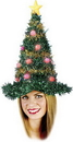 Fun World FW-7498 Christmas Tree Hat Light Up