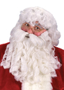Fun World FW-7521 Dlx Santa Wig Beard Mustache