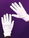 Fun World FW-8108WT Gloves Theatrcl W Snap Wht