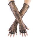 Fun World 8109NF Gloves Spiderweb No Fingers