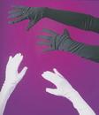 Fun World FW-8110KBK Gloves Child Blk Opera 15In