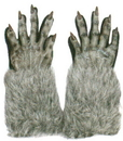 Fun World FW-8274GY Werewolf Gloves Adult Grey