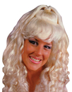 Fun World FW-8594BD Wig Spicy Glamour Blonde