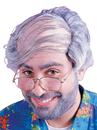 Fun World FW-8599 Wig Combover Gray