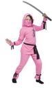 Fun World FW-8708PKMD Pink Ninja Child Med 8-10