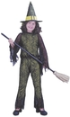 Fun World FW-8753GRMD Funky Witch Green Child Med