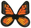 Fun World FW-90078YO Wings Butterfly Satin Ad Yello