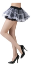 Fun World FW-90124BW Tutu Skirt Black/White