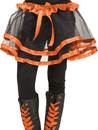 Fun World FW-90253OR Ribbon Tutu Child Orange