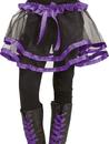 Fun World FW-90253PR Ribbon Tutu Child Purple