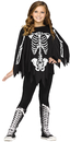 Morris Costumes FW-90395S Poncho Skeleton Ch Up To 14